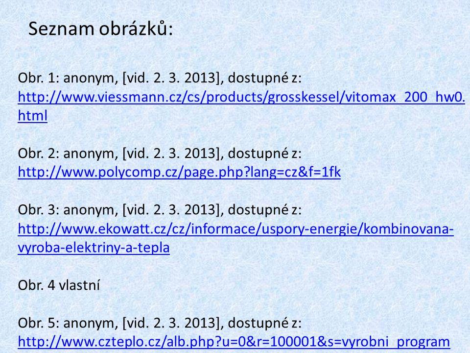 Seznam obrázků: Obr. 1: anonym, [vid. 2. 3. 2013], dostupné z: